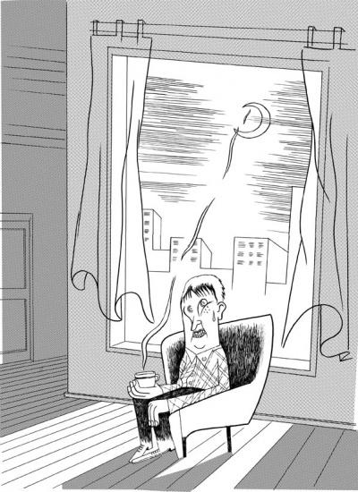 ilustração para texto de Mário Augusto na CriCa 1/3