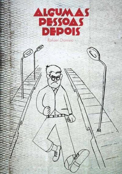 """Ilustração de André Ruivo para capa de """"Algumas pessoas depois"""" (no prelo) de Rafael Dionísio. Design de João Cunha"""