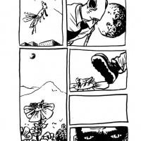 Página4 da bd de Pepedelrey para o zine <strong><em>Chili Bean</em></strong> (2007)