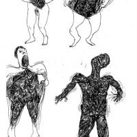 """Página de """"O Hábito faz o monstro""""por Lucas Almeida"""