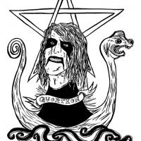 ilustração inédita de Quorthon dos Bathory (para Entulho Informativo)