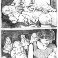 """Página 4 da bd publicada na antologia """"Crack On"""" (Forte Pressa + Chili Com Carne; 2009)"""