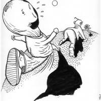 ilustração para texto de Rafael Dionísio na CriCa 1/3