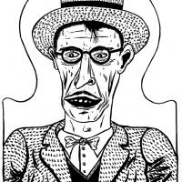ilustração de Robert Crumb para Entulho Informativo