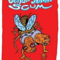 "capa da antologia luso-brasileira ""Seitan Seitan Scum"" (Chili Com Carne + El Pep; 2010)"