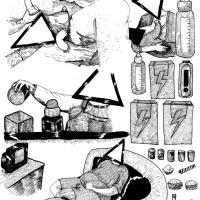 1ª página da bd publicada na antologia CRACK ON, por Ricardo Martins