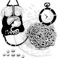 2ª página da bd publicada na antologia CRACK ON, por Ricardo Martins
