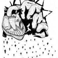3ª página da bd publicada na antologia CRACK ON, por Ricardo Martins
