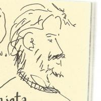 """<strong><a href=""""http://www.chilicomcarne.com/index.php?option=com_rsgallery2&Itemid=42&catid=148"""">Afonso Cortez</a></strong> desenhado por <strong><a href=""""http://www.chilicomcarne.com/index.php?option=com_rsgallery2&Itemid=42&catid=12"""">Marcos Farrajota</a></strong> no <a href=""""http://chilicomcarne.blogspot.pt/2017/06/fotos-de-dia-10-de-junho-dia-do-punk.html"""">dia do lançamento do<em> Corta-e-Cola / Punk comix</em></a>(2017)"""