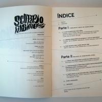 """Interior de <em><a href=""""http://www.chilicomcarne.com/index.php?page=shop.product_details&flypage=flypage-ccc.tpl&product_id=258&category_id=40&option=com_virtuemart&Itemid=77"""">Scorpio Rising : Transgressão juvenil, Anjos do Inferno e Cinema de Vanguarda</a></em>(de Ondina Pires, col. THISCOvery CCChannel #-1), design João Cunha"""