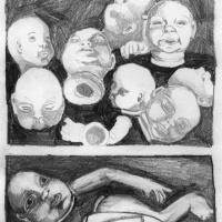 """Página 1 da bd publicada na antologia """"Crack On"""" (Forte Pressa + Chili Com Carne; 2009)"""