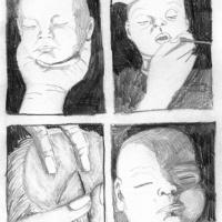 """Página 2 da bd publicada na antologia """"Crack On"""" (Forte Pressa + Chili Com Carne; 2009)"""