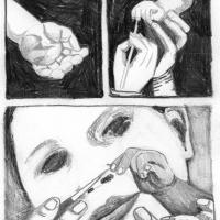 """Página 3 da bd publicada na antologia """"Crack On"""" (Forte Pressa + Chili Com Carne; 2009)"""
