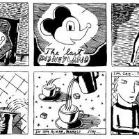 """Isabel Carvalho - página da bd """"Allen"""", editado no Mesinha de Cabeceira #41 (2000)."""